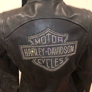 Ladies Harley-Davidson Diva Swarovski jacket